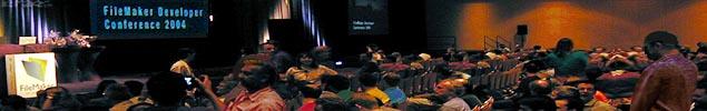 Crowds Gathering for the FileMaker Developer Conference Keynote Address